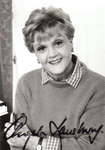 Angela Lansbury Autogramm